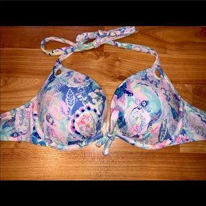 Victoria Secret- 32C: Add 2 Cup Bikini Top